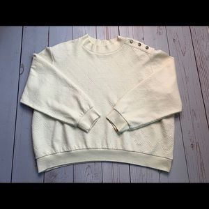 Vintage Alfred Dunner Ivort Crew Neck Sweater